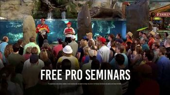 Bass Pro Shops Spring Fishing Classic TV Spot, 'Free Pro Seminars'