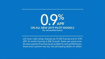 2019 Honda Pilot TV Spot, 'Room for More' [T2] - Thumbnail 9