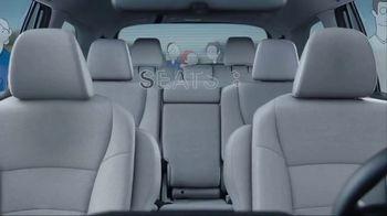 2019 Honda Pilot TV Spot, 'Room for More' [T2] - Thumbnail 2