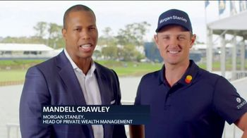 Morgan Stanley TV Spot, '2019 Eagles for Impact Challenge' Featuring Justin Rose - Thumbnail 3