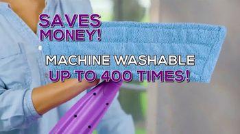 Rejuvenate Click n Clean TV Spot, 'Machine Washable Pads'