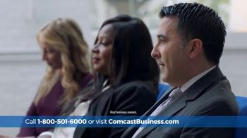 Comcast Business Switch & Save Days TV Spot, 'Excited Business Owners: $150 Prepaid Card' - Thumbnail 2