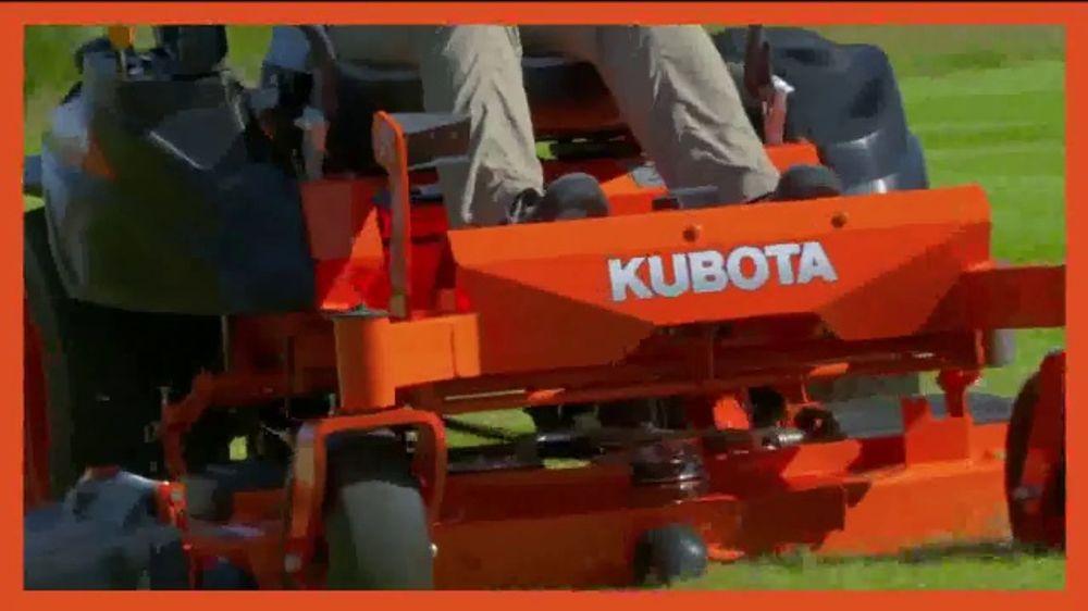 Kubota Z400 TV Commercial, 'Commercial-Grade Performance, Residential Price'
