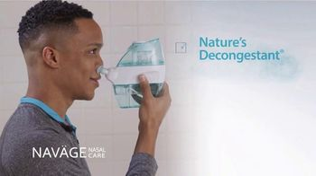 Navage TV Spot, 'That Clean Nose Feeling' - Thumbnail 7