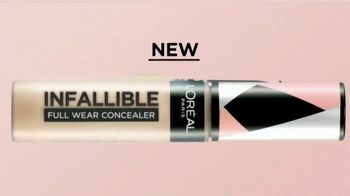 L'Oreal Paris Infallible Full Wear Concealer TV Spot, 'Shapes, Covers and Contours' Song by Queen