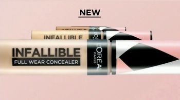 L'Oreal Paris Infallible Full Wear Concealer TV Spot, 'Shapes, Covers and Contours' Song by Queen - Thumbnail 3