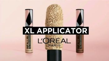 L'Oreal Paris Infallible Full Wear Concealer TV Spot, 'Shapes, Covers and Contours' Song by Queen - Thumbnail 4