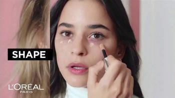 L'Oreal Paris Infallible Full Wear Concealer TV Spot, 'Shapes, Covers and Contours' Song by Queen - Thumbnail 6