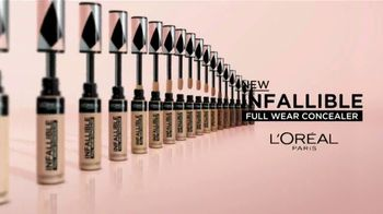 L'Oreal Paris Infallible Full Wear Concealer TV Spot, 'So Much More' Song by Queen - Thumbnail 9