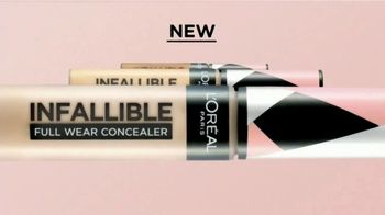 L'Oreal Paris Infallible Full Wear Concealer TV Spot, 'So Much More' Song by Queen - Thumbnail 3