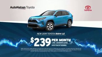 AutoNation 72 Hour Flash Sale TV Spot, '2019 Toyota RAV4' - Thumbnail 3