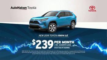 AutoNation 72 Hour Flash Sale TV Spot, '2019 Toyota RAV4' - Thumbnail 4