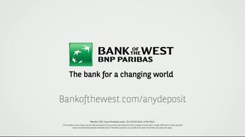 Bank of the West TV Spot, 'Any Deposit' - Thumbnail 7