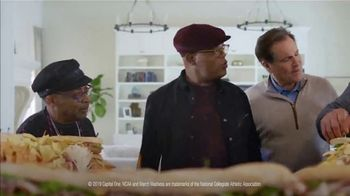 Capital One TV Spot, 'NCAA: Final Fourgasboard' Featuring Samuel L. Jackson, Charles Barkley - Thumbnail 2
