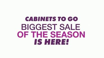 Cabinets To Go Annual Spring Kitchen Sale TV Spot, 'Biggest Sale of the Season' - Thumbnail 2