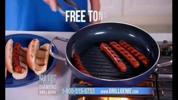 Blue Diamond Pan Grill Genie TV Spot, 'All Year Long'