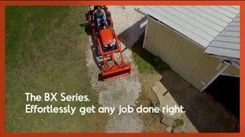 Kubota BX Series TV Spot, 'Effortlessly Get Any Job Done' - Thumbnail 9
