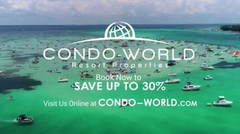 Condo-World Resort Properties TV Spot, 'Your World to Play' - Thumbnail 8