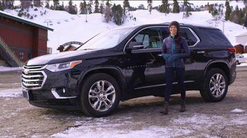 2019 Chevrolet Traverse TV Spot, 'Bear Mountain Ski Trip' Featuring Jessica Vilchis [T2] - Thumbnail 1