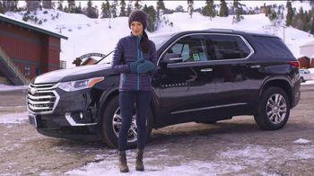 2019 Chevrolet Traverse TV Spot, 'Bear Mountain Ski Trip' Featuring Jessica Vilchis [T2] - Thumbnail 3