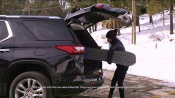 2019 Chevrolet Traverse TV Spot, 'Bear Mountain Ski Trip' Featuring Jessica Vilchis [T2] - Thumbnail 7