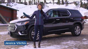 2019 Chevrolet Traverse TV Spot, 'Bear Mountain Ski Trip' Featuring Jessica Vilchis [T2]