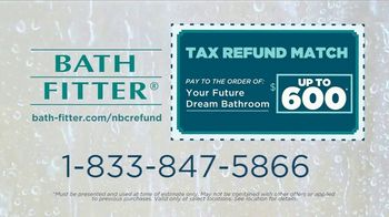 Bath Fitter TV Spot, 'Blown Away: Tax Refund Match' - Thumbnail 8