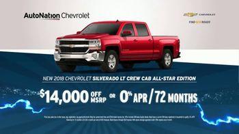 AutoNation 72 Hour Flash Sale TV Spot, '2018 Chevrolet Silverado or Equinox' - Thumbnail 4