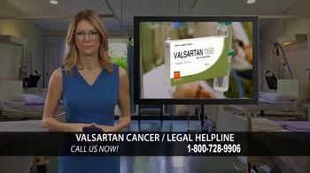 Valsartan Cancer Legal Helpline TV Spot, 'Valsartan 160' - Thumbnail 1