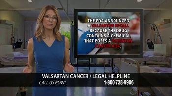 Valsartan Cancer Legal Helpline TV Spot, 'Valsartan 160' - Thumbnail 4