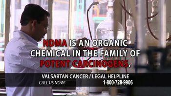 Valsartan Cancer Legal Helpline TV Spot, 'Valsartan 160' - Thumbnail 7