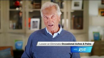 Relief Factor Quickstart TV Spot, 'Skepticism' Featuring Pat Boone - 28 commercial airings