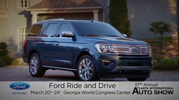 Ford TV Spot, 'Atlanta International Auto Show: Jump in and Drive' [T2] - Thumbnail 1