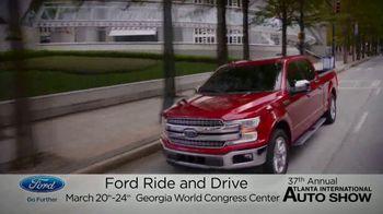 Ford TV Spot, 'Atlanta International Auto Show: Jump in and Drive' [T2] - Thumbnail 2