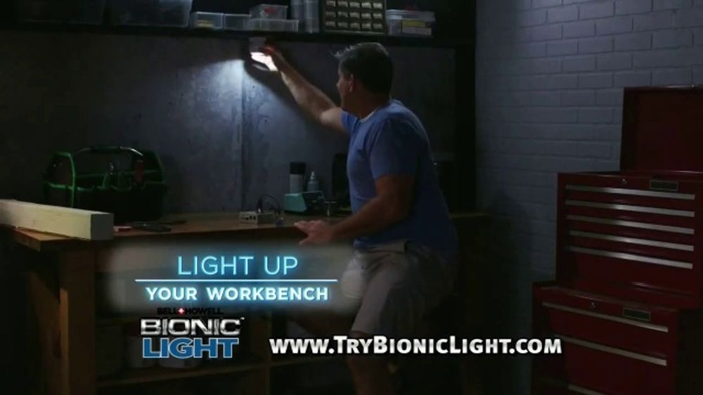 Bell + Howell Bionic Light TV Commercial, 'You Need Light' - Video