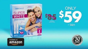 GO SMILE Super White Snap Packs TV Spot, 'Busy Mom: Directly to Your Door' - Thumbnail 10