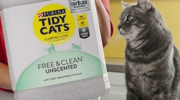 Tidy Cats Free & Clean Unscented TV Spot, 'Have You Smelled This Litter' - Thumbnail 3