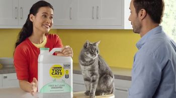 Tidy Cats Free & Clean Unscented TV Spot, 'Have You Smelled This Litter' - Thumbnail 4