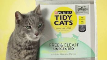 Tidy Cats Free & Clean Unscented TV Spot, 'Have You Smelled This Litter' - Thumbnail 7