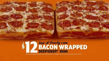 Little Caesars Bacon Wrapped DEEP!DEEP! Dish Pizza TV Spot, 'Litigation' - Thumbnail 8