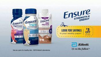 Ensure Original Nutrition Shake TV Spot, 'On a Mission: Complete Balanced Nutrition' - Thumbnail 9