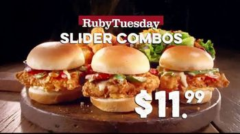 Ruby Tuesday Slider Combos TV Spot, 'Just $11.99' - Thumbnail 9