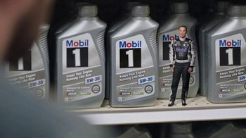 Mobil 1 TV Spot, 'Paid Spokesman: Get 250K Miles of Protection' Featuring Kevin Harvick, Clint Bowyer - Thumbnail 4