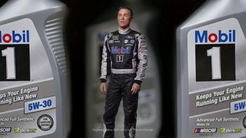Mobil 1 TV Spot, 'Paid Spokesman: Get 250K Miles of Protection' Featuring Kevin Harvick, Clint Bowyer - Thumbnail 5