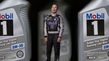 Mobil 1 TV Spot, 'Paid Spokesman: Get 250K Miles of Protection' Featuring Kevin Harvick, Clint Bowyer - Thumbnail 7