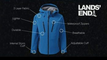 Lands' End Ultimate Waterproof Rain Jacket TV Spot, 'The Weather Channel: What's It Take'
