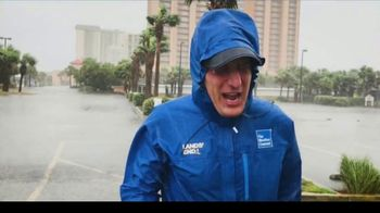 Lands' End Ultimate Waterproof Rain Jacket TV Spot, 'The Weather Channel: What's It Take' - Thumbnail 2
