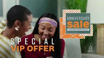 Ashley HomeStore Anniversary Sale TV Spot, 'VIP Offer'