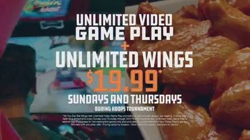 Dave and Buster's TV Spot, 'March Madness: Unlimited Video Games & Wings' - Thumbnail 6