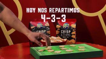 Ritz Crackers Crisp & Thins TV Spot, 'El día del partido' [Spanish] - Thumbnail 3